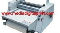 Mesin laminasi model baru ini adalah mesin yang bisa digunakan untuk melapisi atau melaminasi dengan menggunakan bahan laminating kapasitas besar Spesifikasi : 1. Kecepatan : 1-5m/menit 2. Temperatur ; 70-110...