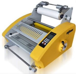 Mesin Laminasi High Press Premium 38 cm Taiwan (with 2 Temperature and Cutter)